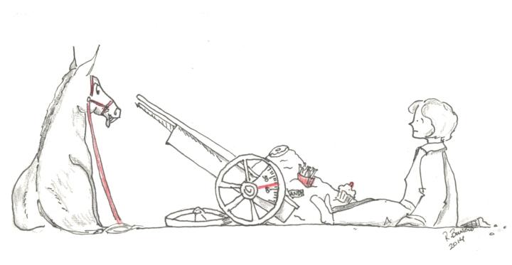 A Cart, A Horse, and anAss