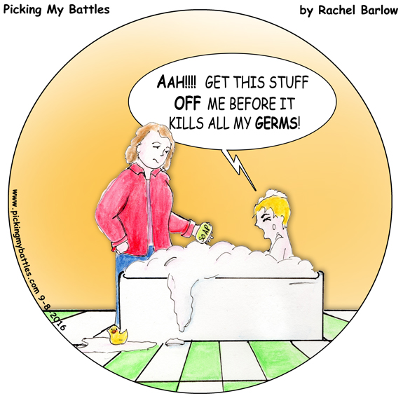 Picking My Battles – BathAllergies